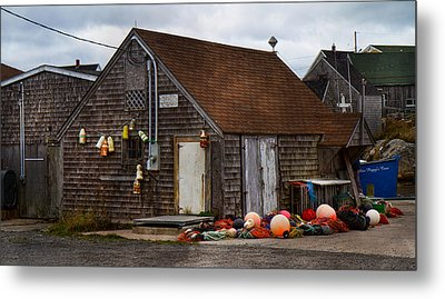 Peggy's Cove 23 Metal Print by Betsy Knapp