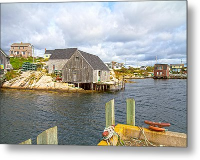 Peggy's Cove 6 Metal Print by Betsy Knapp