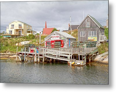 Peggy's Cove 7 Metal Print by Betsy Knapp