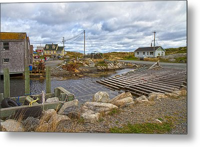 Peggy's Cove 8 Metal Print by Betsy Knapp