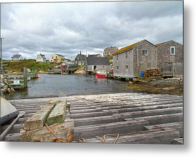 Peggy's Cove 9 Metal Print by Betsy Knapp