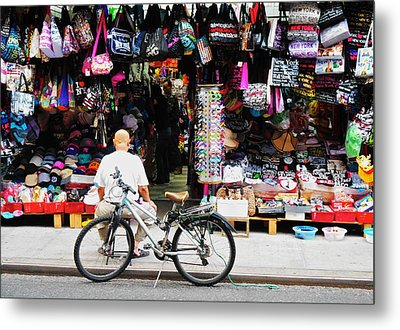 Metal Print featuring the photograph Pell St. Chinatown  Nyc by Joan Reese