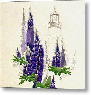 Pemaquid Lighthouse 2 Metal Print