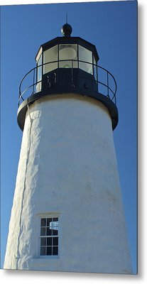 Metal Print featuring the photograph Pemaquid Lighthouse by Amazing Jules