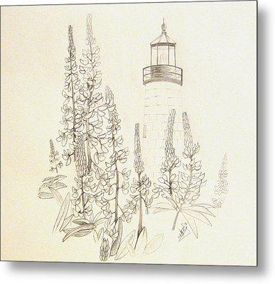 Pemaquid Lighthouse Metal Print