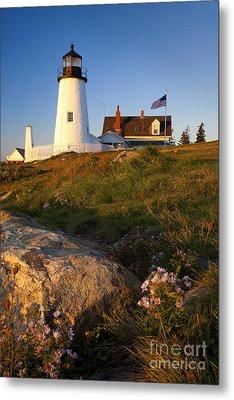 Pemaquid Point Lighthouse Metal Print by Brian Jannsen