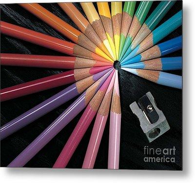 Pencils Metal Print by Gary Gingrich Galleries