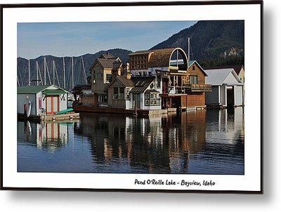 Pend O'reille Lake 2 Metal Print by Ellen Tully