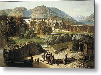 Penguilly-lharidon, Octave 1811-1870 Metal Print by Everett