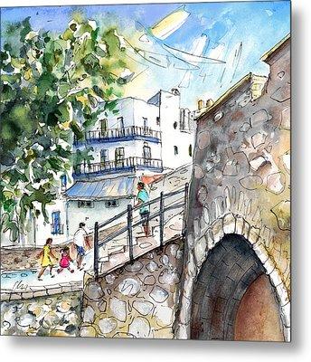 Peniscola Old Town 03 Metal Print by Miki De Goodaboom