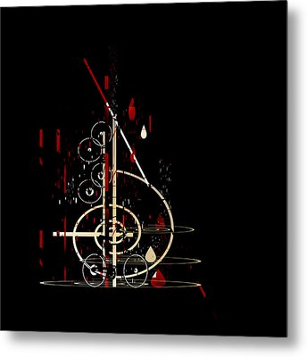 Penman Original - Untitled 96 Metal Print by Andrew Penman