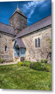 Penmon Priory Metal Print by Adrian Evans