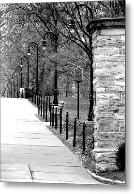 Penn State Campus  Metal Print by Mary Beth Landis
