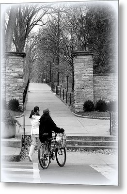 Penn State University Transportation Metal Print by Mary Beth Landis