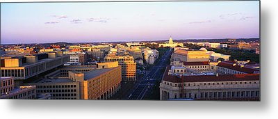 Pennsylvania Ave Washington Dc Metal Print by Panoramic Images