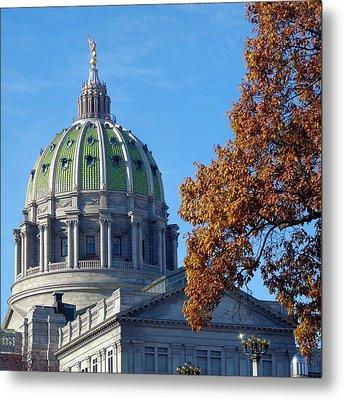 Pennsylvania Capitol Building Metal Print