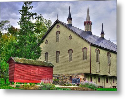 Pennsylvania Country Roads - The Centennial Barn - Fort Hunter Park - Dauphin County Metal Print