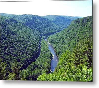 Metal Print featuring the photograph Pennsylvania Grand Canyon 2 by Tom Doud