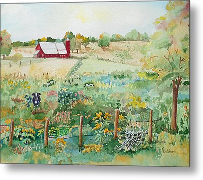 Pennsylvania Pasture Metal Print