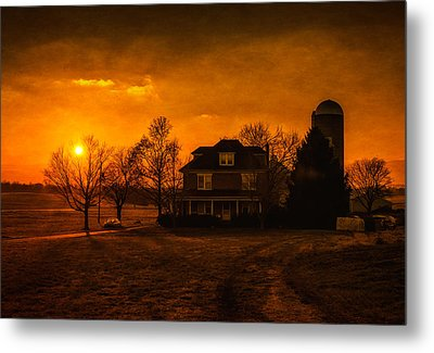 Pennsylvania's Finest Metal Print by Linda Karlin