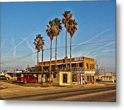 Penny Bar Mckittrick California Metal Print by Lanita Williams