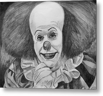 Pennywise Metal Print by Jeremy Moore