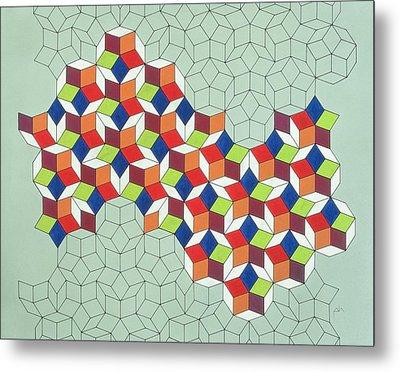 Penrose's Conundrum Metal Print by Peter Hugo McClure
