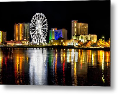 Metal Print featuring the photograph Pensacola Beach Skyline by Tim Stanley