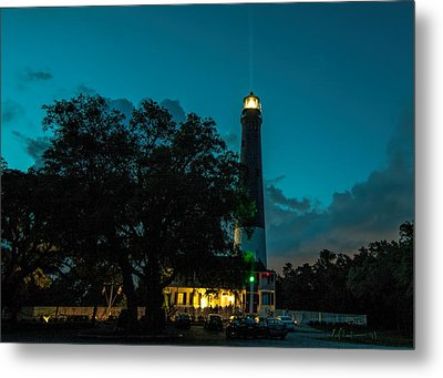 Pensacola Lighthouse Metal Print by Dorothy Cunningham