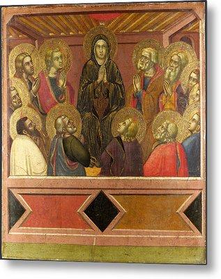 Pentecost Metal Print by Barnaba da Modena