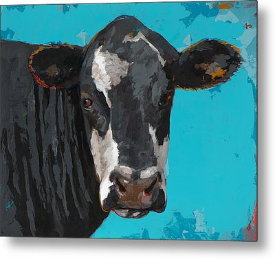 People Like Cows #8 Metal Print by David Palmer