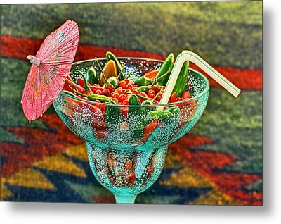 Metal Print featuring the photograph Pepperita by Gary Holmes