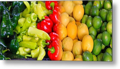 Peppers To Pucker Metal Print
