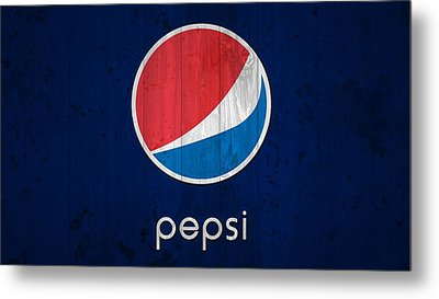 Pepsi Barn Sign Metal Print