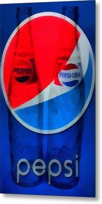 Pepsi Cola Metal Print by Dan Sproul