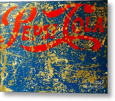 Pepsi Metal Print by Newel Hunter