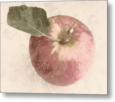 Perfect Apple Metal Print