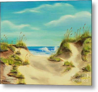 Perfect Beach Day Metal Print