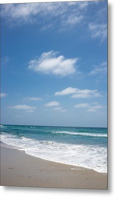 Perfect Day Pacific Beach Metal Print