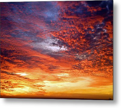 Perfect Ending Metal Print by Michael Durst