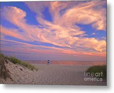 Perfect Ending To Summer On Cape Cod Metal Print by Amazing Jules