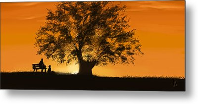 Perfect Moment Metal Print by Veronica Minozzi