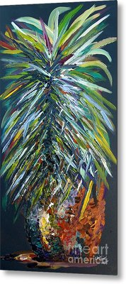 Perfect Pineapple Metal Print by Eloise Schneider
