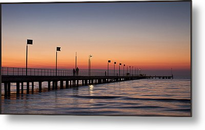 Metal Print featuring the photograph Perfect Sunset by Kim Andelkovic