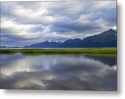 Perfectly Cloudy Metal Print by Saya Studios