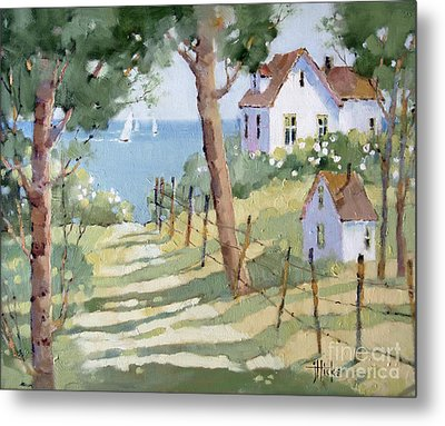 Perfectly Peaceful Nantucket Metal Print