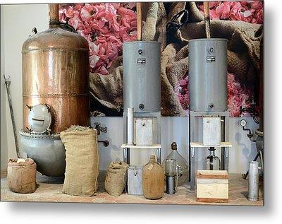 Perfume Stills Metal Print by Chris Hellier
