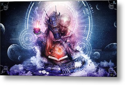 Perhaps The Dreams Are Of Soulmates Metal Print by Cameron Gray