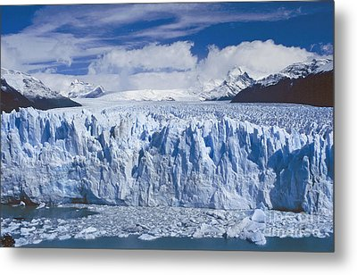 Metal Print featuring the photograph Perito Moreno Glacier Argentina by Rudi Prott