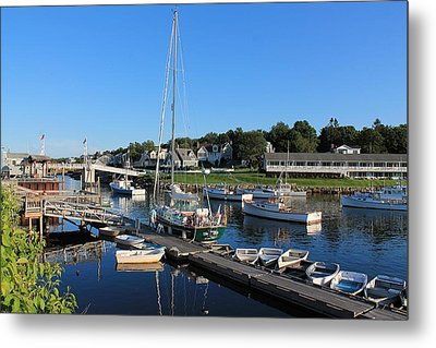 Perkins Cove Ogunquit Maine 2 Metal Print